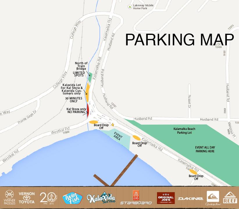Kal-Parking-Map