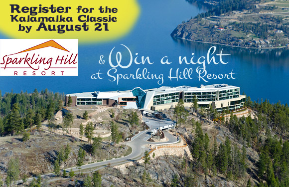 Win a Free Night at Sparkling Hill Resort
